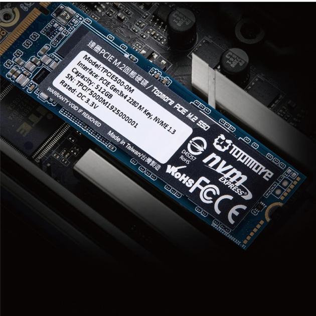 PCIE M.2 SSD (TPCIE500) 2