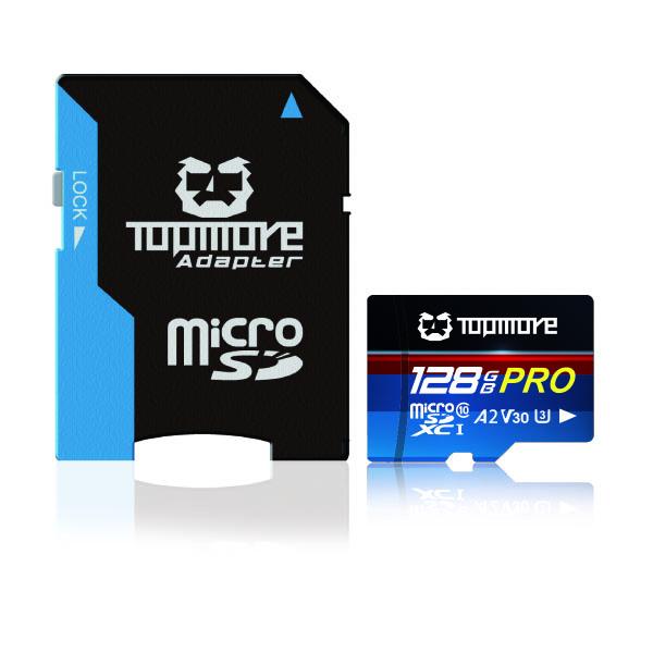 MicroSDXC UHS-1 U3 A2 V30 Class 10 PRO 记忆卡 1