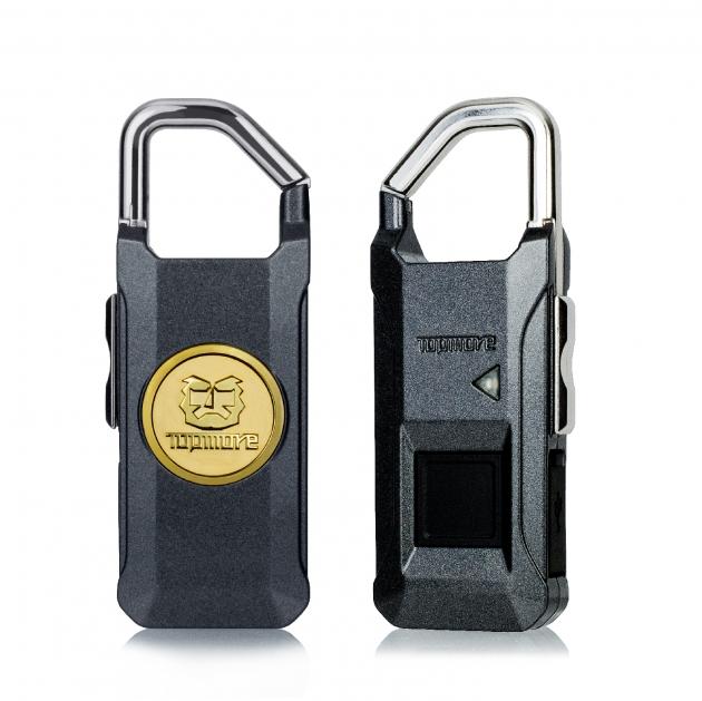 指纹辨识挂锁(深铁灰) 3