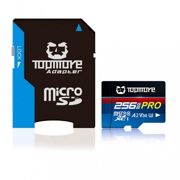 MicroSDXC UHS-1 U3  A2 V30 Class 10 PRO記憶卡 2