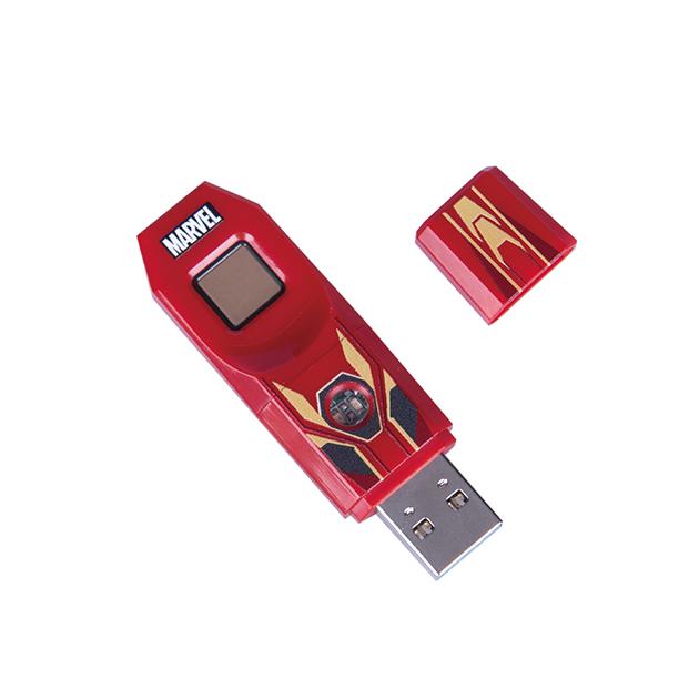 漫威系列第2代指紋辨識碟USB3.0-鋼鐵人款 2