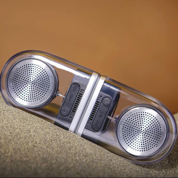 Crystal Cube Bluetooth Speaker 5