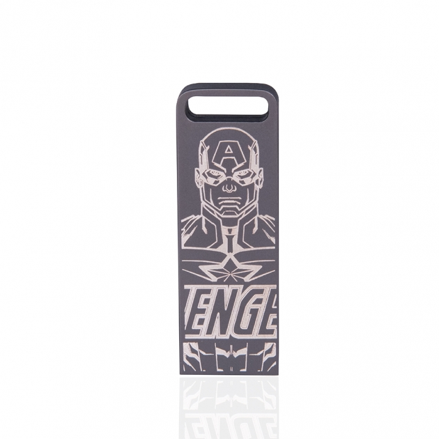 ZXM Marvel Three in one Edition Flash Drive –laser marking 3