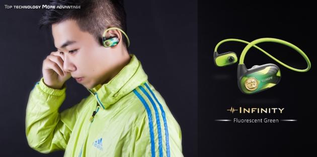 轻量无线运动防水耳机 4