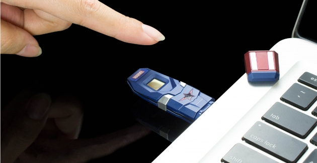 漫威系列指纹辨识碟 USB3.0 2
